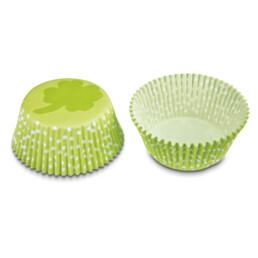 Paper cupcake liners - Cloverleaf - Mini - 50 pieces