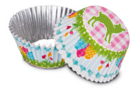 Paper cupcake liners - Easter fawn - 50 pieces