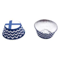 Papier-Backförmchen - Finnland - 50 Stück