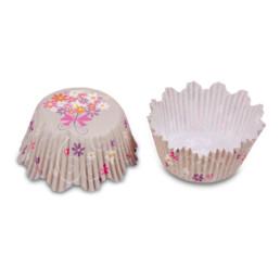 Papier-Backförmchen – Blumenstrauß – 100 Stück
