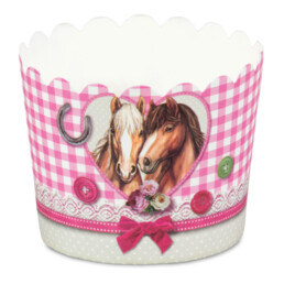 Cupcake liner - Horse friends - Mini - 12 pieces