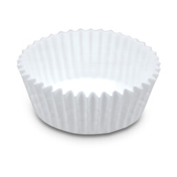 Papier-Backförmchen – Weiß – 200 Stück