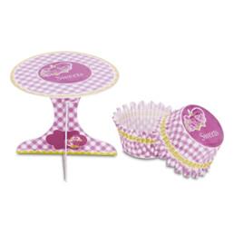 Cupcake-Deko - Sweets - Set, 36-teilig