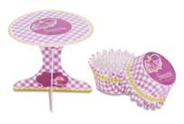 Cupcake deko - Sweets - Set, 36 parts