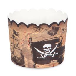 Cupcake liner - Pirate Adventure - Maxi - 12 pieces