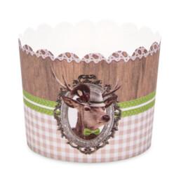 Cupcake-Backform - Platzhirsch - Maxi - 12 Stück