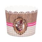 Cupcake-Backform - Hirschdame - Maxi - 12 Stück