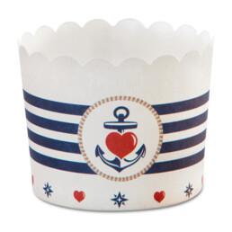 Cupcake-Backform - Backbord Ahoi - Maxi - 12 Stück