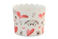 Cupcake-Backform - Sweet Love - Maxi - 12 Stück