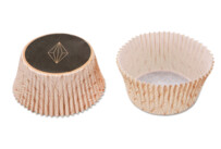 Paper cupcake liners - Vanilla Diamonds - Maxi - 50 pieces