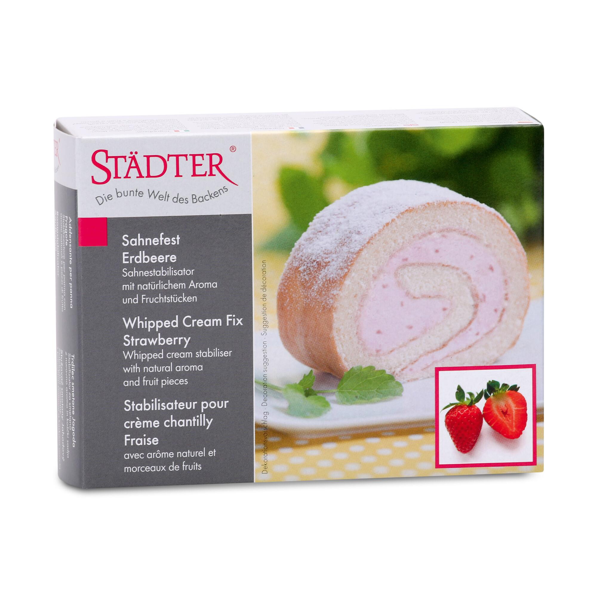 Whipped cream fix - Strawberry