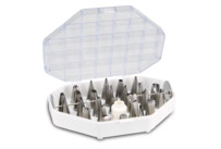 Decorating nozzles - Set, 29 parts