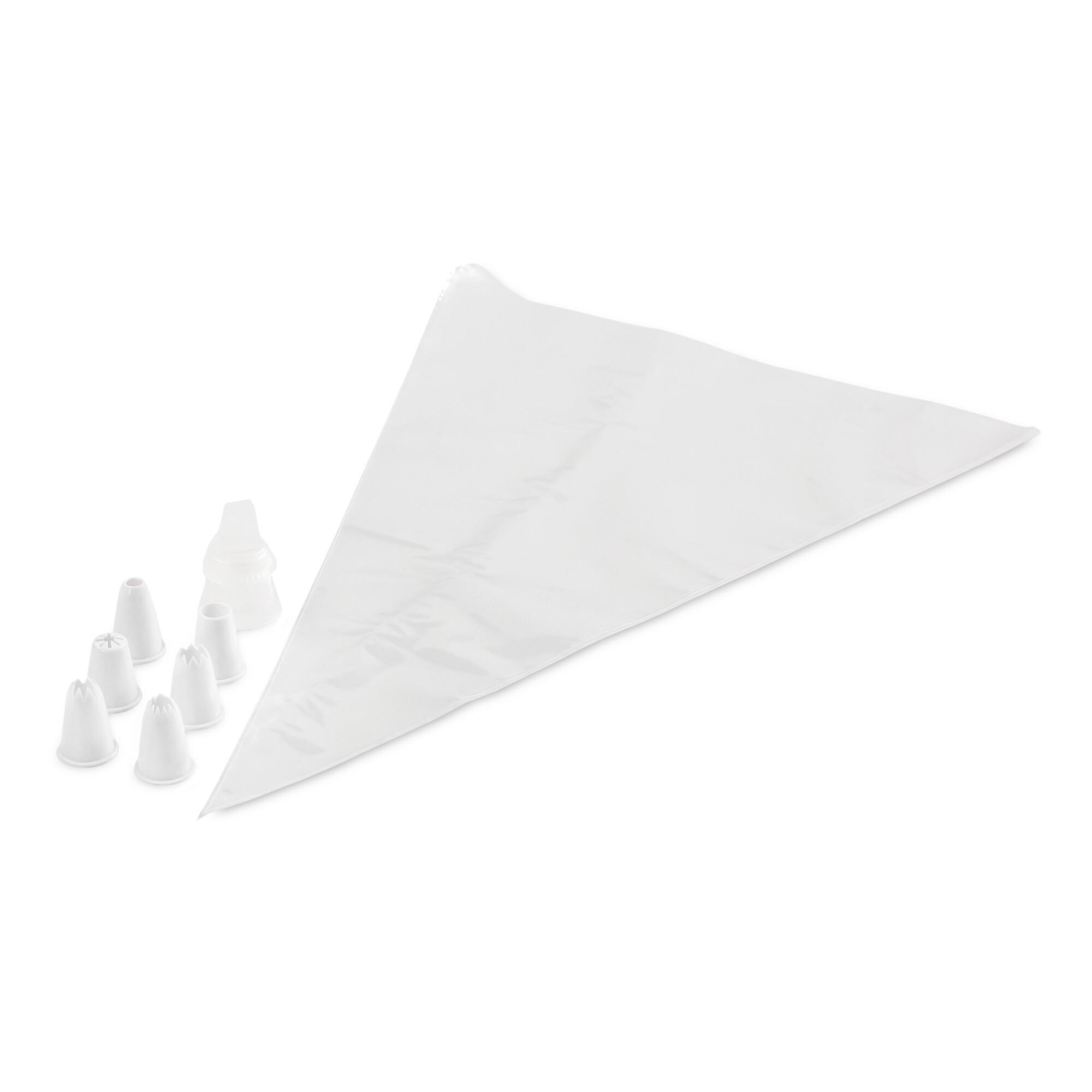 Zweikammer-Spritzbeutel - Farbenspiel - Set, 17-teilig