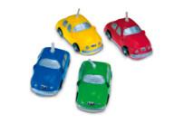 Candles - Car - Set, 4 parts