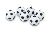 Candles - Soccer balls - Set, 6 parts