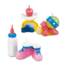 Kerzen - Baby - Set, 4-teilig