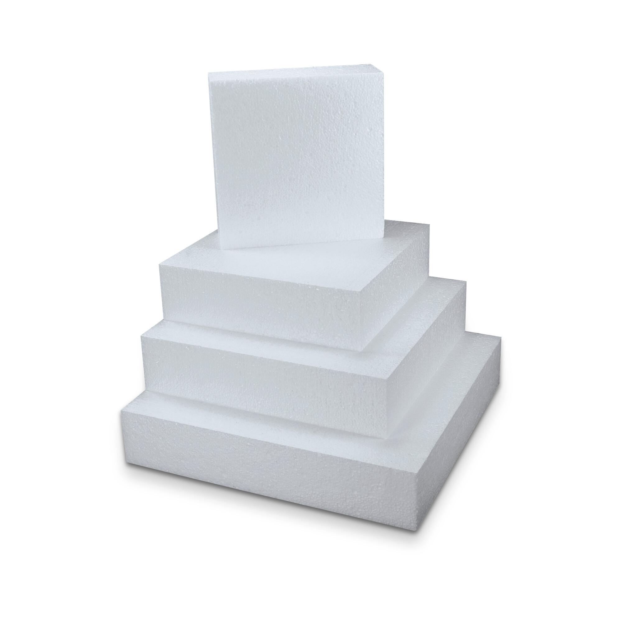Zuschnitt für Schautorte - Quadrat