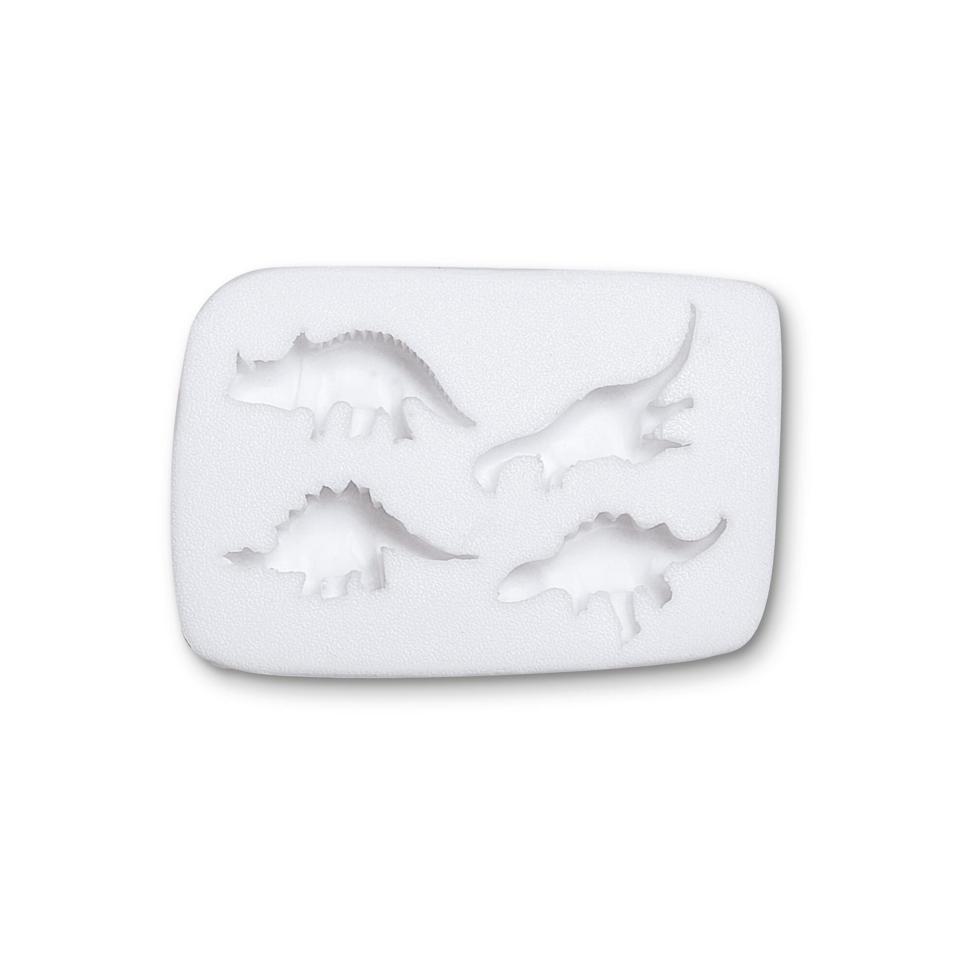Fondant mould - Dinosaur - 4s relief form