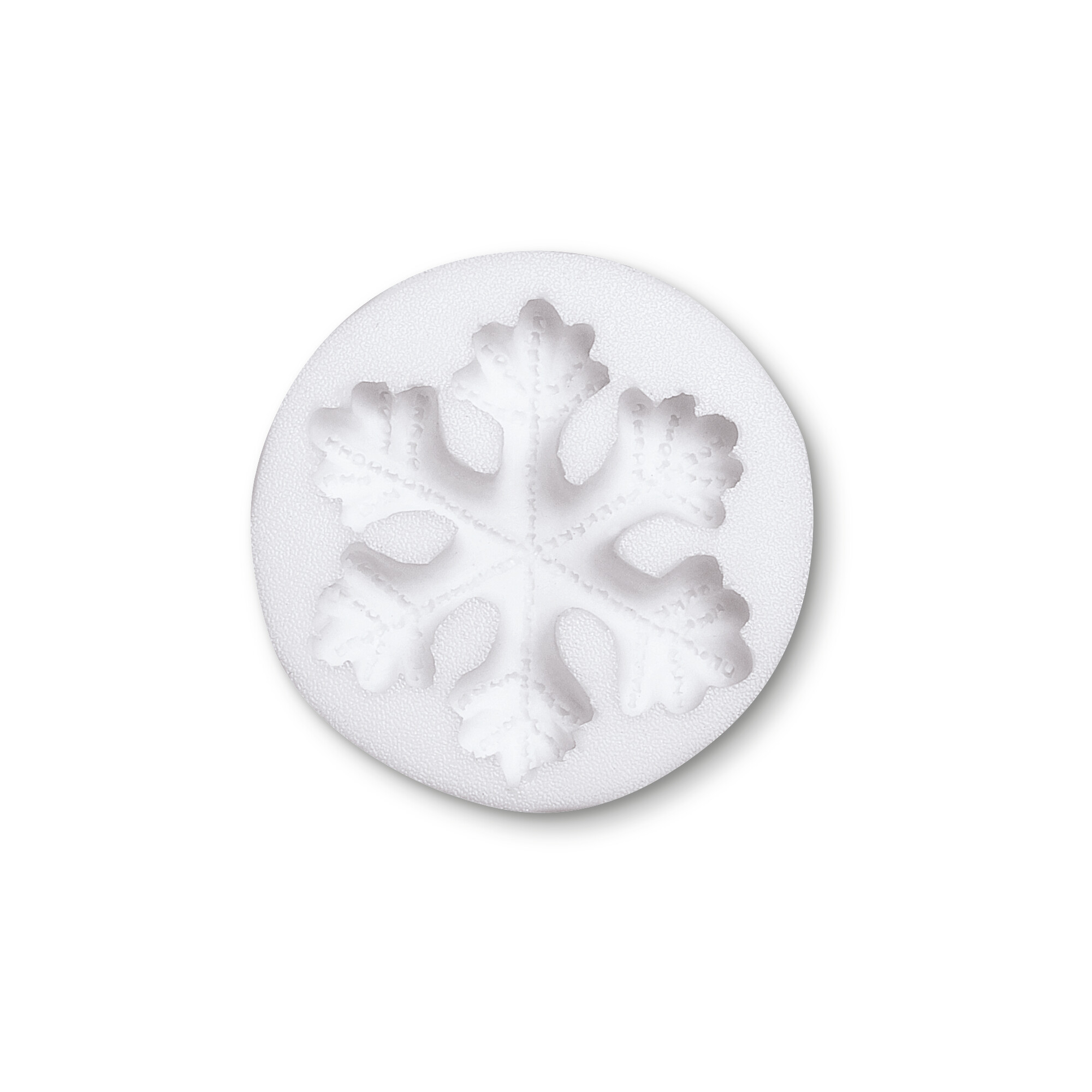 Deko-Flex-Model - Schneeflocke - Reliefform