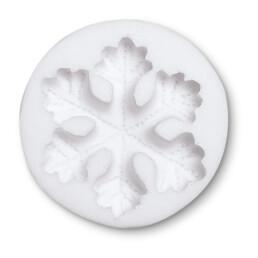 Fondant mould - Snowflake - Relief form