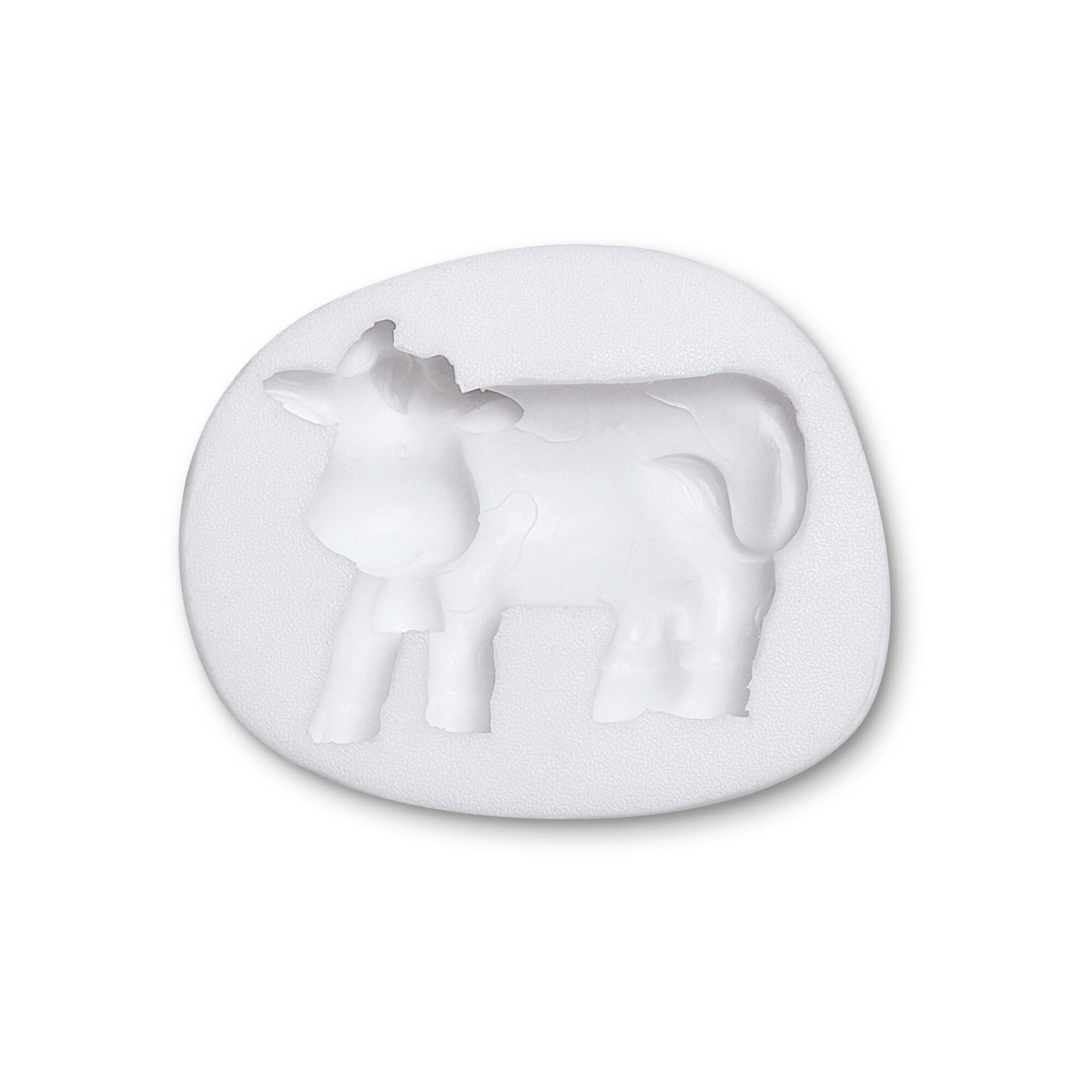 Fondant mould - Cow - Relief form