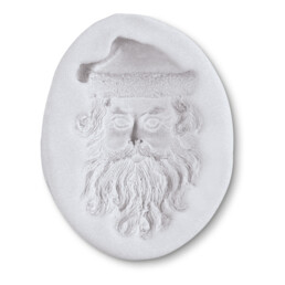 Fondant mould - Santa Claus face - Relief form
