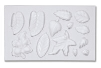Fondant mould - Leaves - 13s relief form