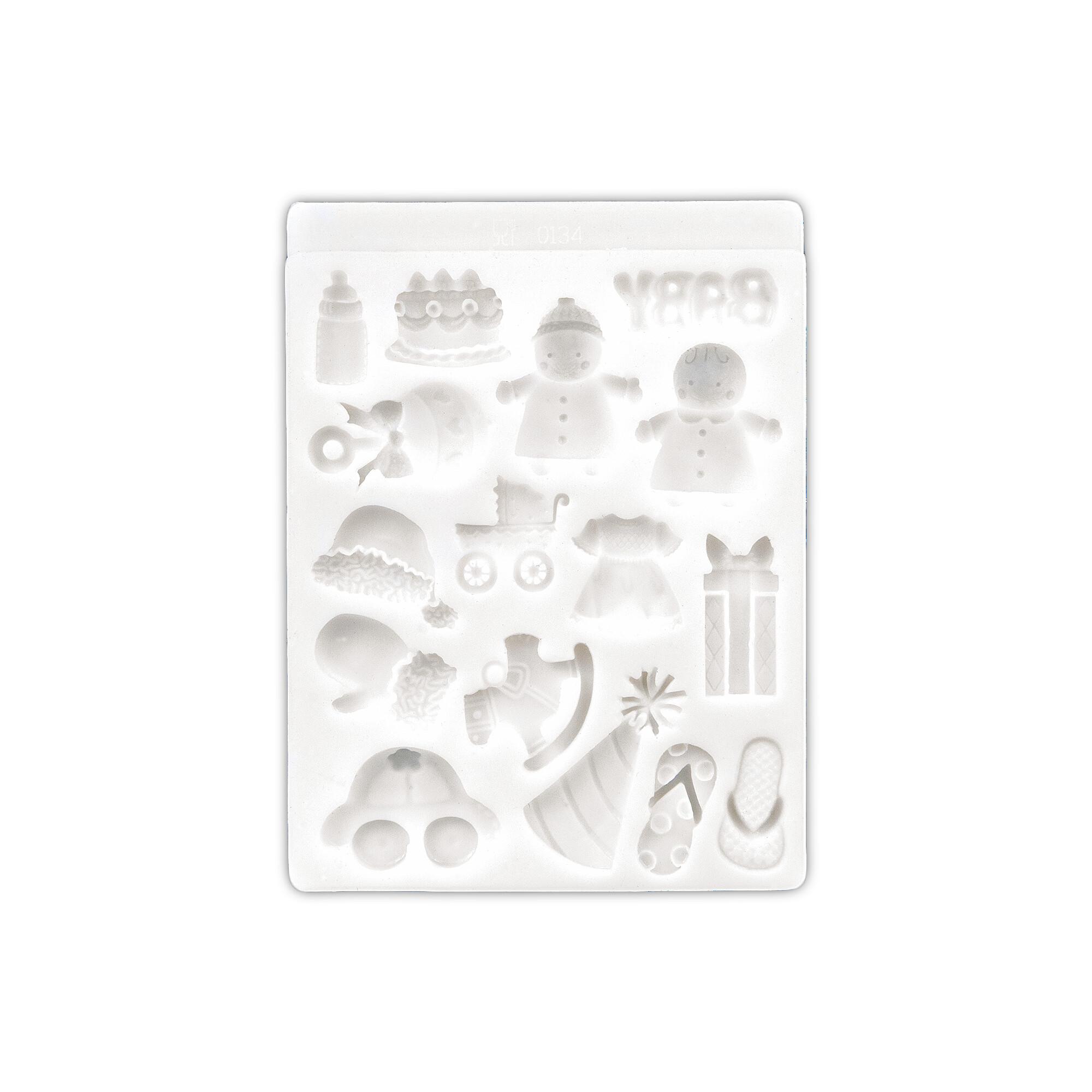 Deko-Flex-Model - Baby - 16er-Reliefform