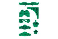 Fondant-Prägestempel - Ornament - Set, 7-teilig