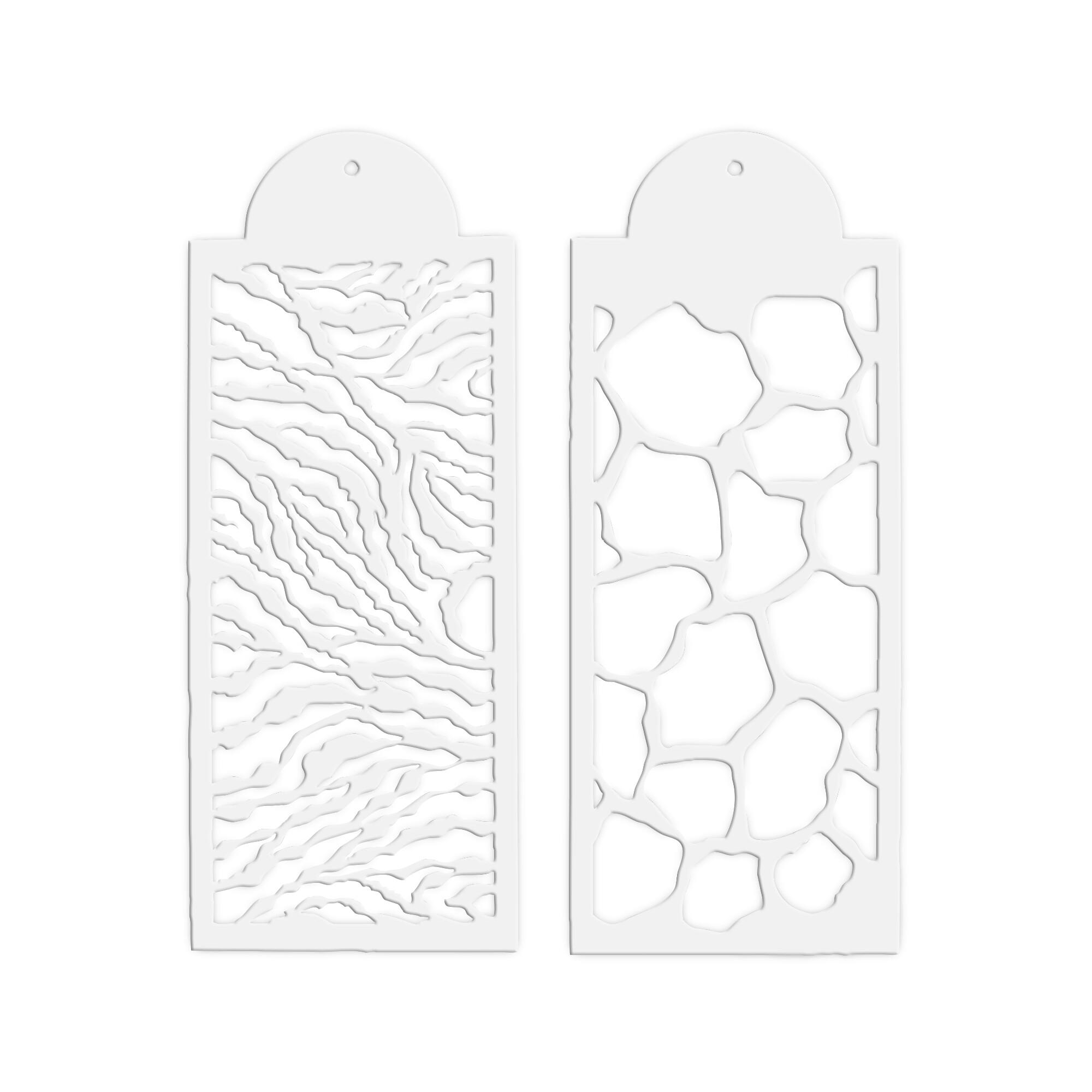 Dekor-Schablonen - Safari - Set, 2-teilig