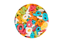 Edible sprinkle decoration - Number Mix