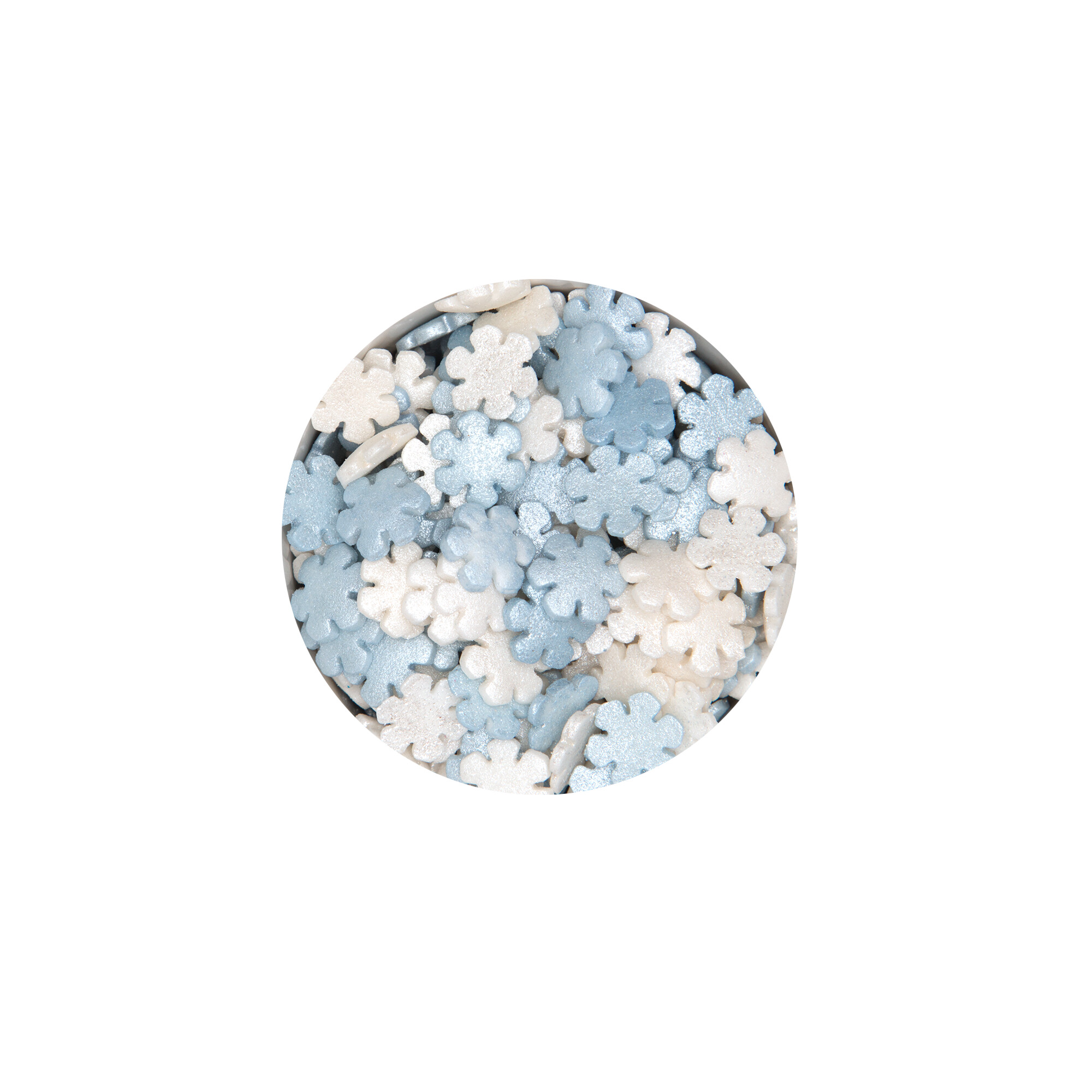 Essbarer Streudekor - Schneeflocke