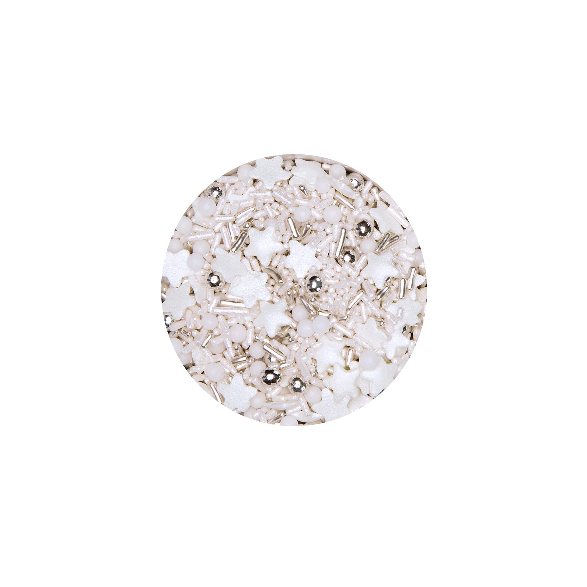 Edible sprinkle decoration - Magic stars - Mix