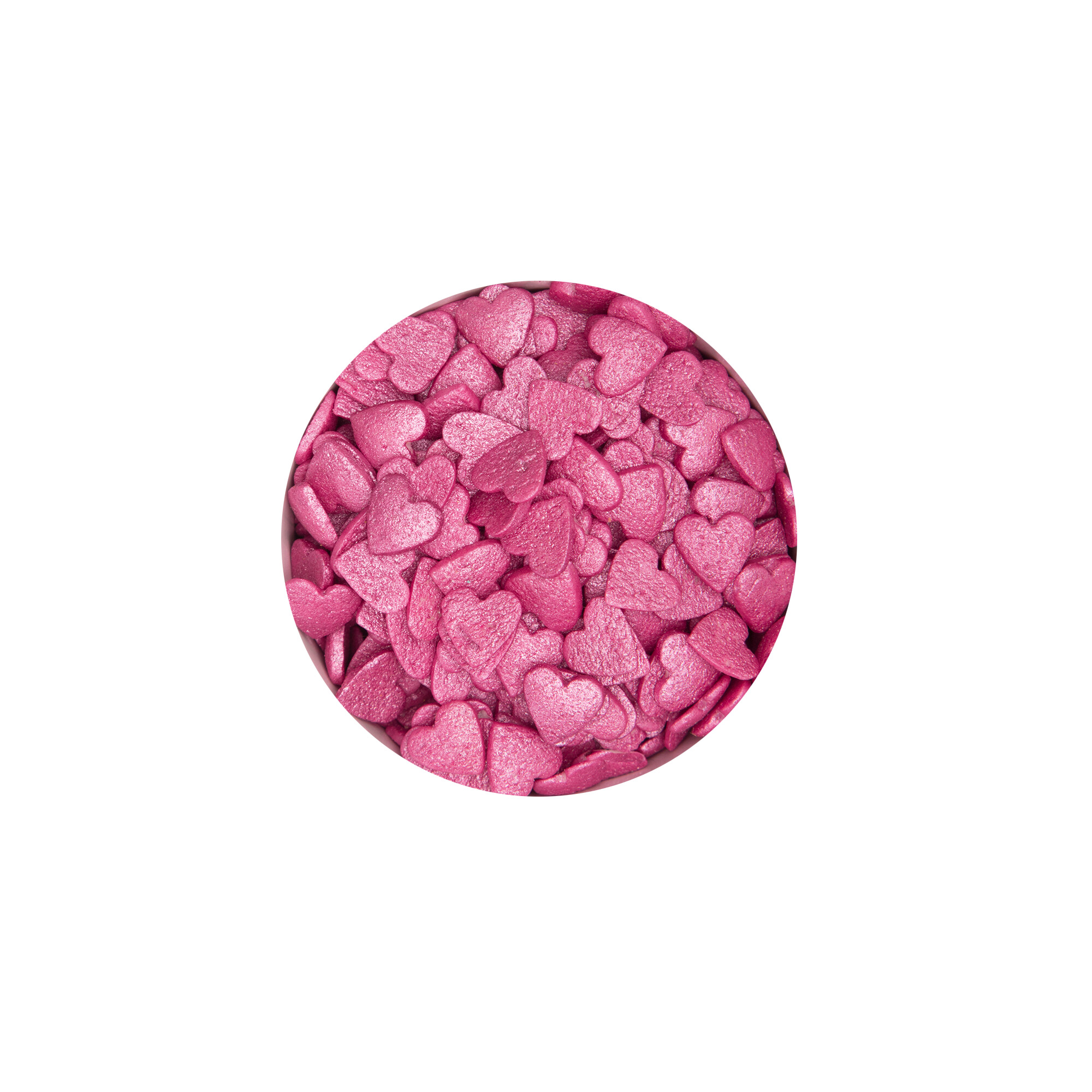 Edible sprinkle decoration - Hearts