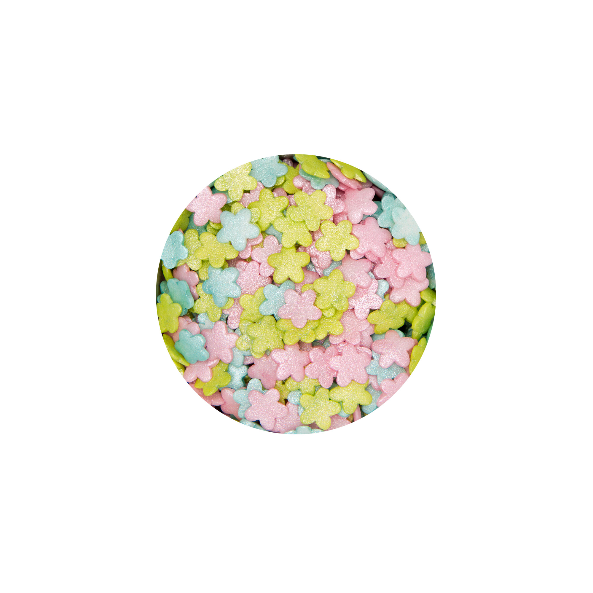 Edible sprinkle decoration - Flowers