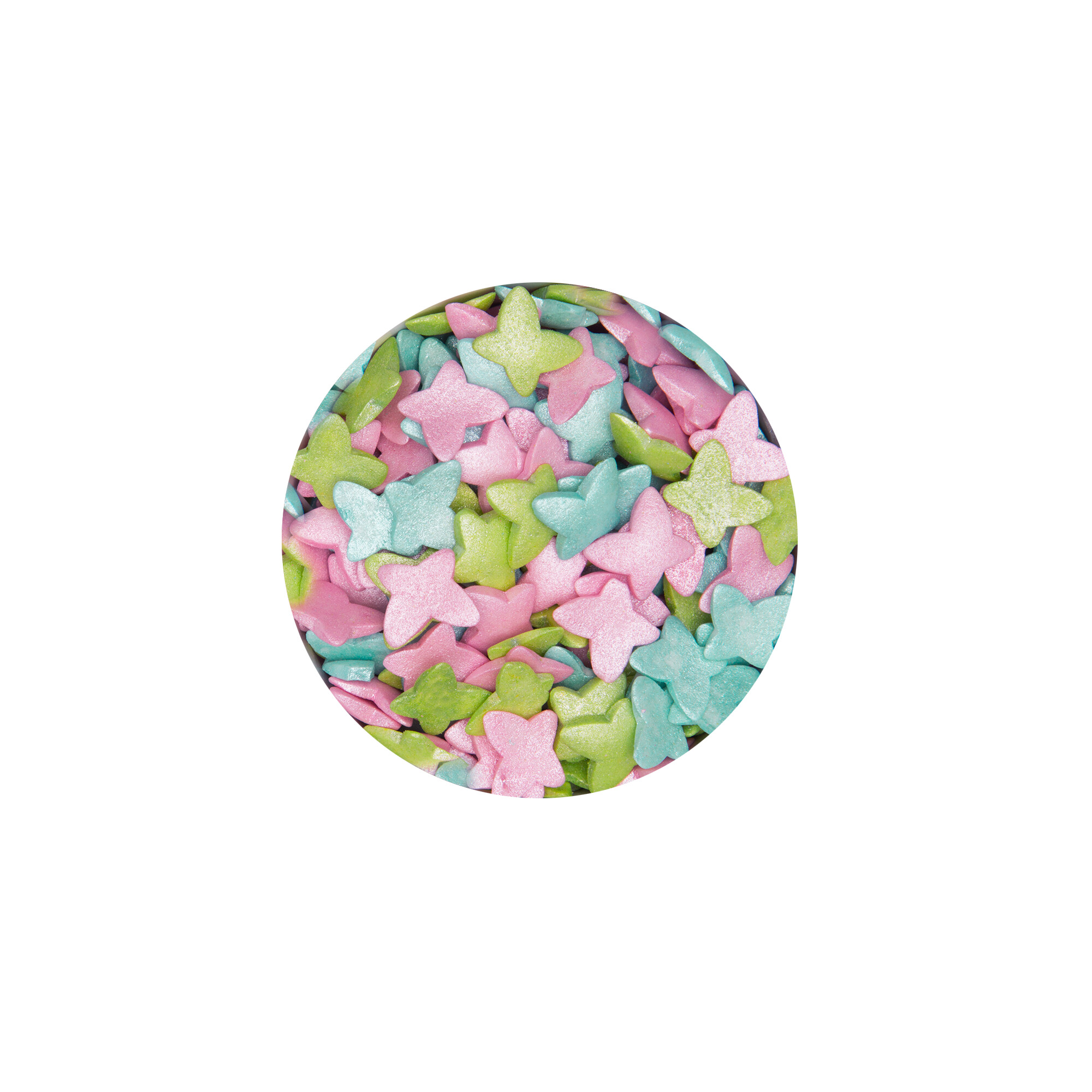 Essbarer Streudekor - Schmetterlinge