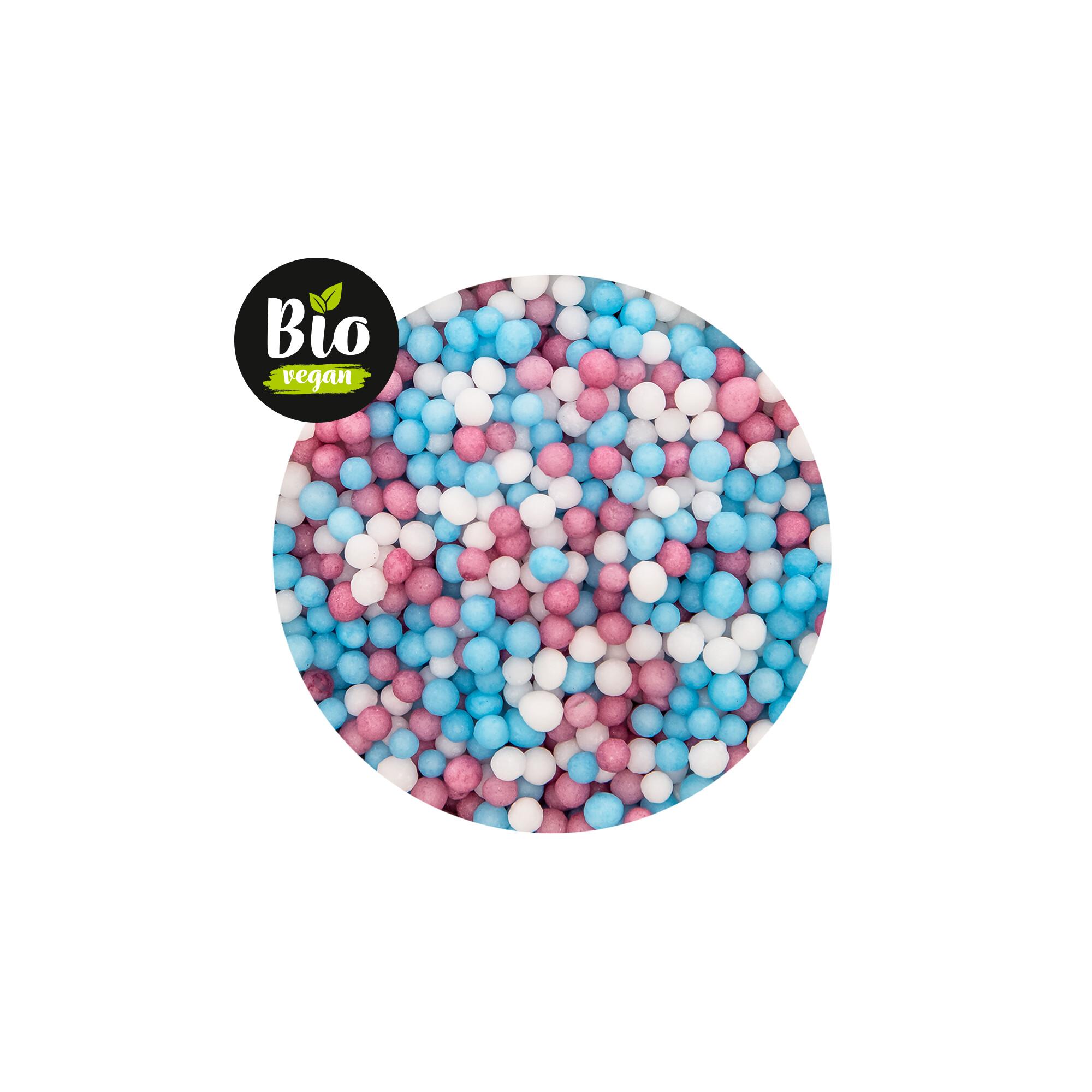 Edible sprinkle decoration - Organic Pearls Mini