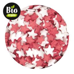 Essbarer Streudekor - Bio Sterne