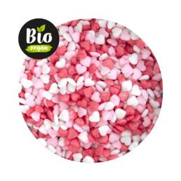 Essbarer Streudekor - Bio Herzen Mini