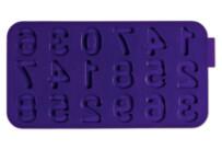 Schokoladenform - Zahlen - Silikon