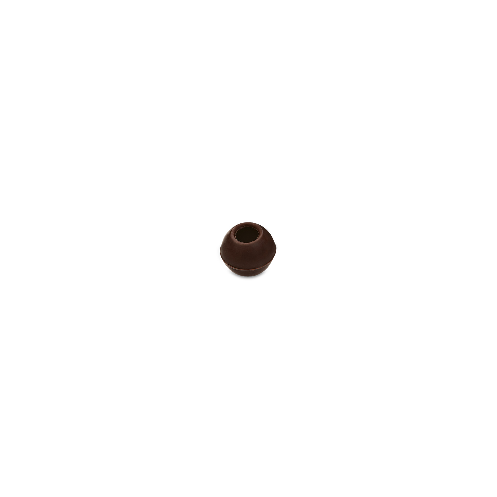 Chocolate hollow bodies - Truffes - Dark chocolate - 63 pieces