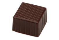 Chocolate hollow bodies - Carree - Dark chocolate - 63 pieces