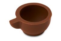 Pralinen-Hohlkörper - Tasse - Vollmilchschokolade - 54 Stück