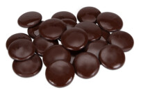 Kuvertüre - Edelbitter-Schokolade - Drops