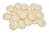 Kuvertüre - Weiße Edelschokolade - Drops