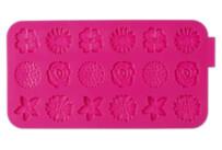 Schokoladenform - Blumen - Silikon