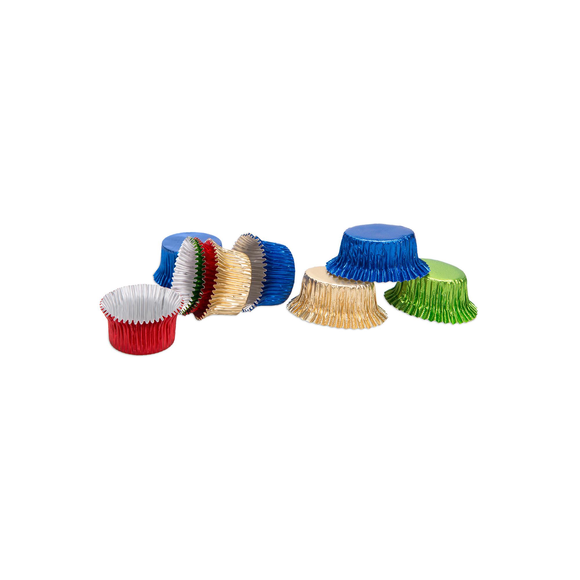 Pralinenkapseln - Rund & Oval - 50 Stück