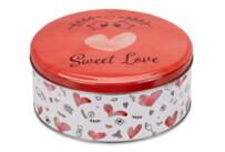 Gebäckdose - Sweet Love - Rund