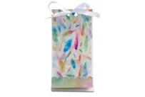 Geschenktüten - Rainbow Feathers - Set, 24-teilig