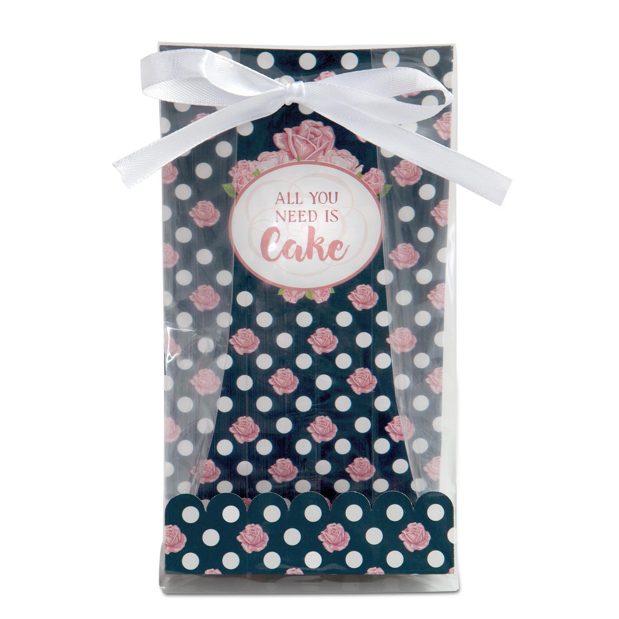Geschenktüten - All You Need Is Cake - Set, 24-teilig